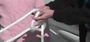 Tie a Bowline Knot for boaters