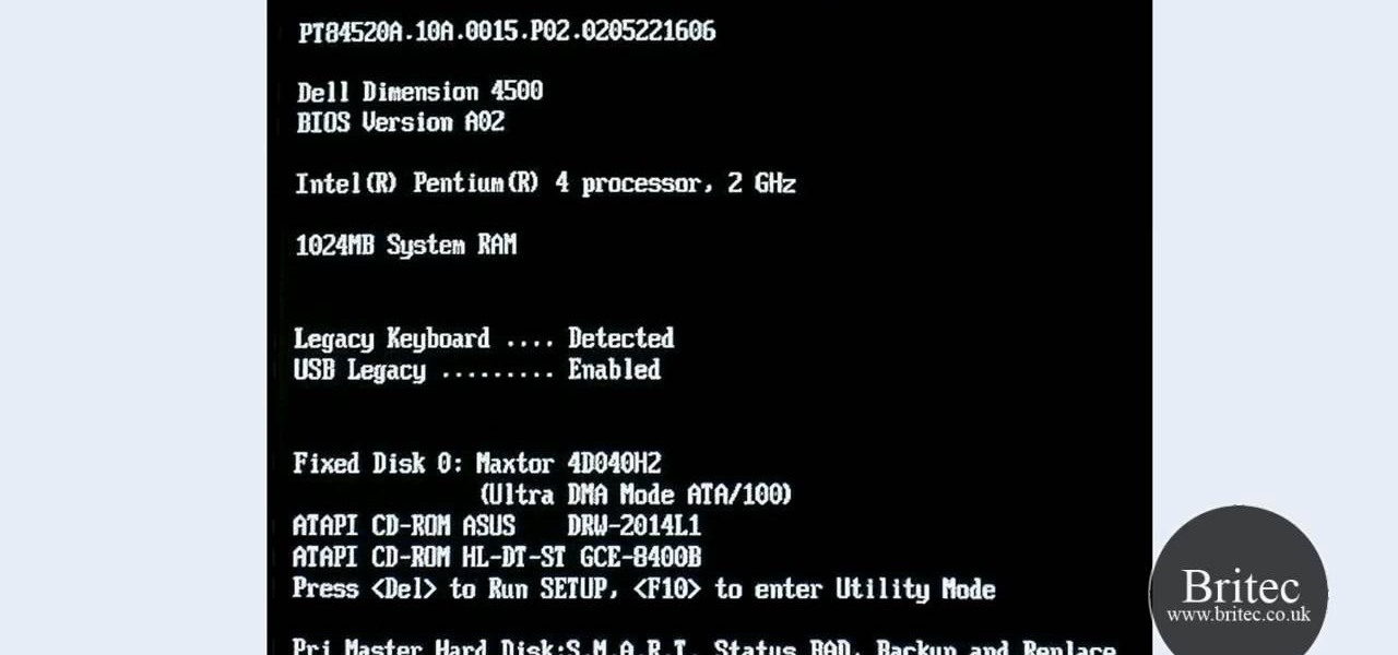 How To Fix A Quot Pri Master Hard Disk Smart Status Bad