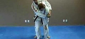 Do a Jiu Jitsu hip throw
