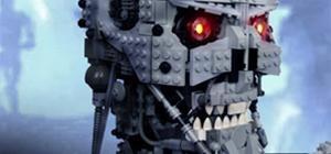 LEGO Terminator Bust