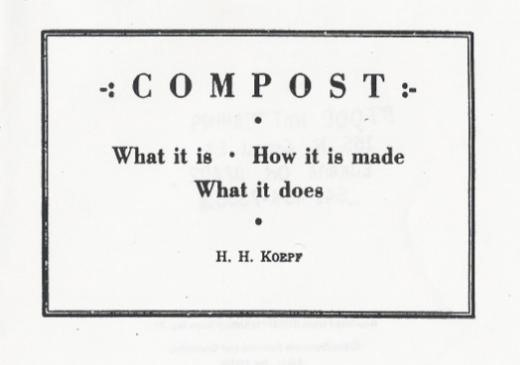 """How To Make Compost"" Zine (Download)"