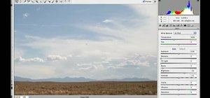 Spot and clean up landscape photos in Photoshop CS5
