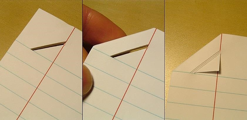 Stapleless Paper Trick