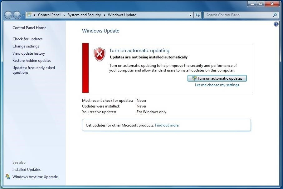 How to Update Windows 7 - Beginners Guide