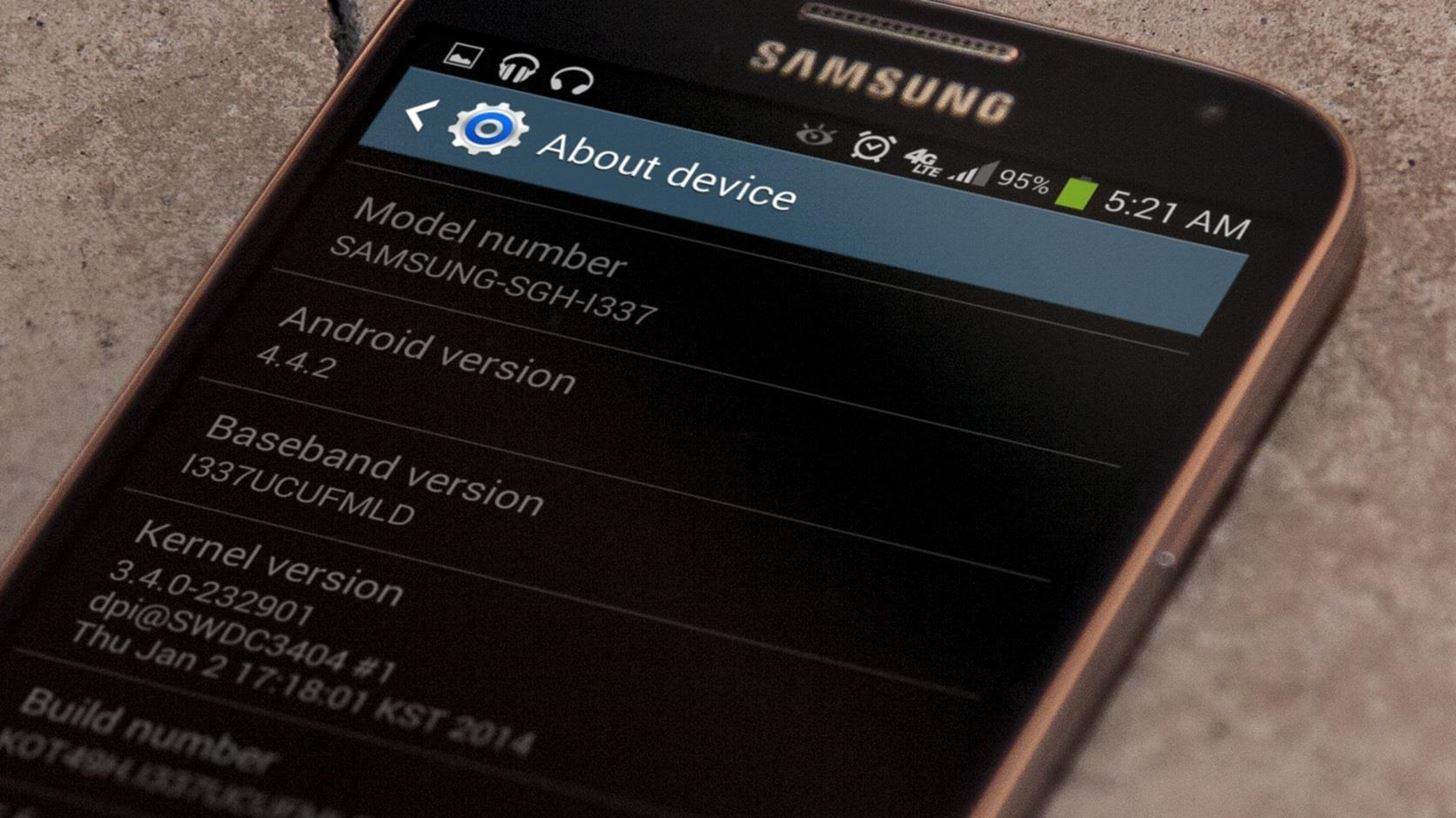 How to Install the Leaked KitKat Build on Your AT&T Samsung Galaxy S4
