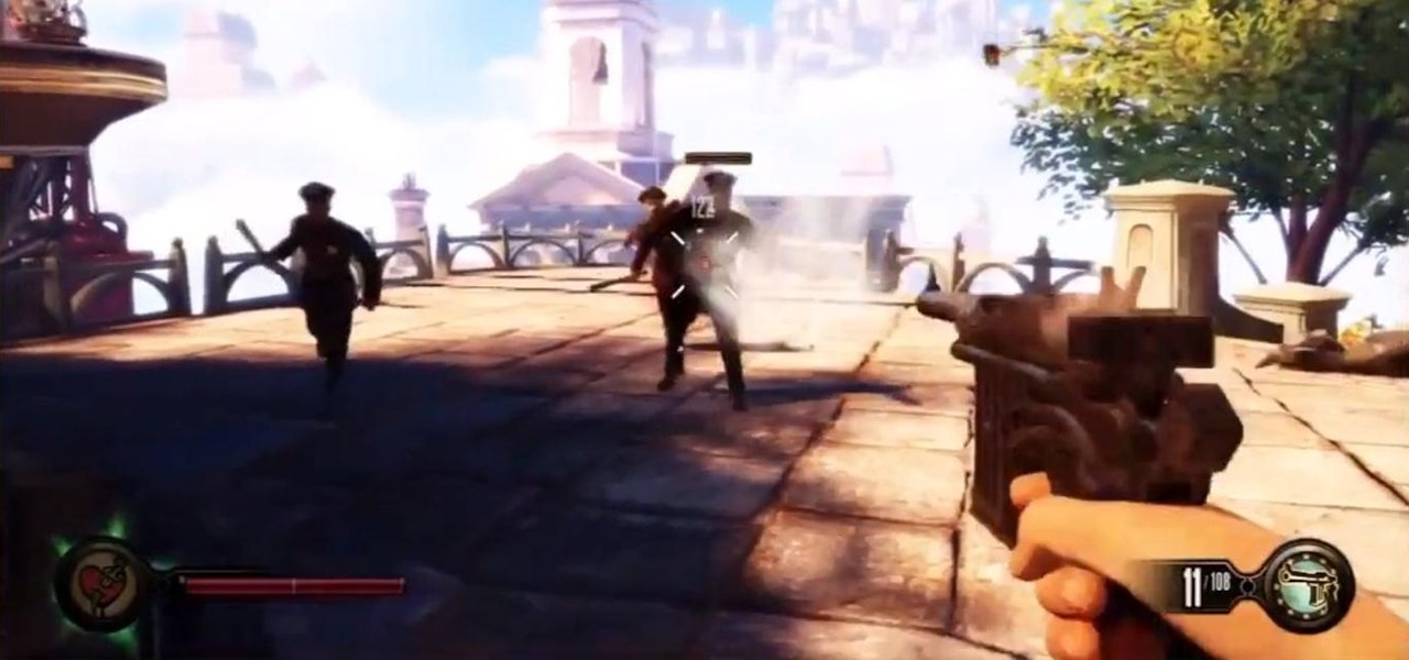"Earn the ""A Real Pistol"" Achievement in BioShock: Infinite"