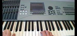 Play simple chords on the piano