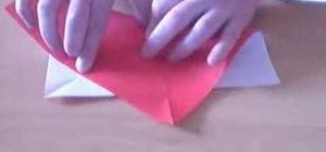 Cut an octagon for origami from a square