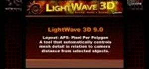 Set mesh details relative to camera in LightWave