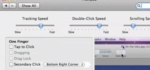 Enable tap to click on Mac OS X