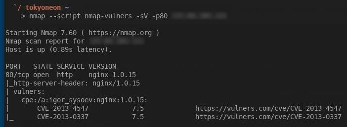 Easily Detect CVEs with Nmap Scripts
