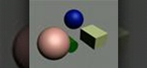 Change surface properties of objects in 3ds Max 8