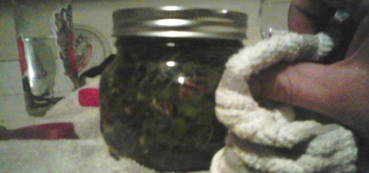Make a Simple Herbal Extract