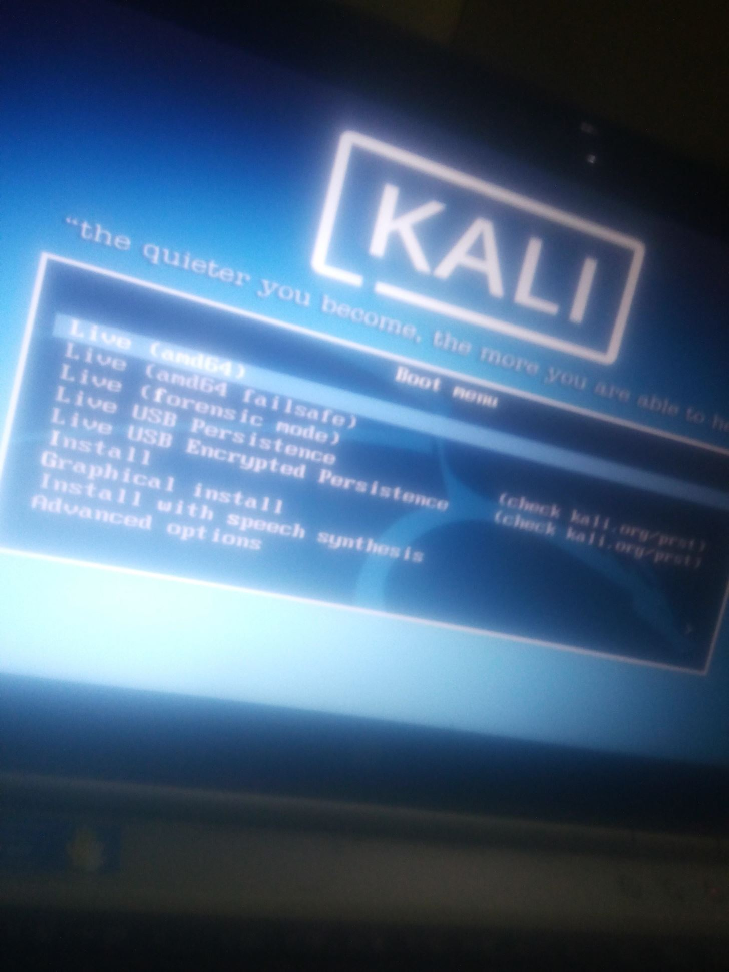 Kali Linux Stuck at Booting « Null Byte :: WonderHowTo