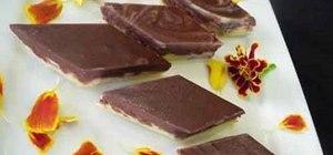 Make Indian chocolate burfi