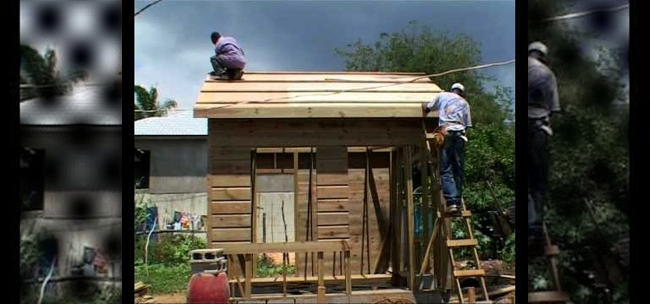 How To Build A Wooden House With A Concrete Wall That Is Safe From  Hurricanes « Natural Disasters :: WonderHowTo