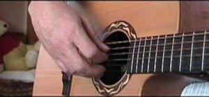 "Play ""Empty Pocket Blues"" by Clive Palmer on guitar"