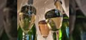 Properly open, serve and store champagne and sparkling wine