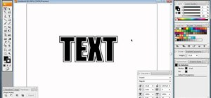Improve your text by using Illustrator text effects