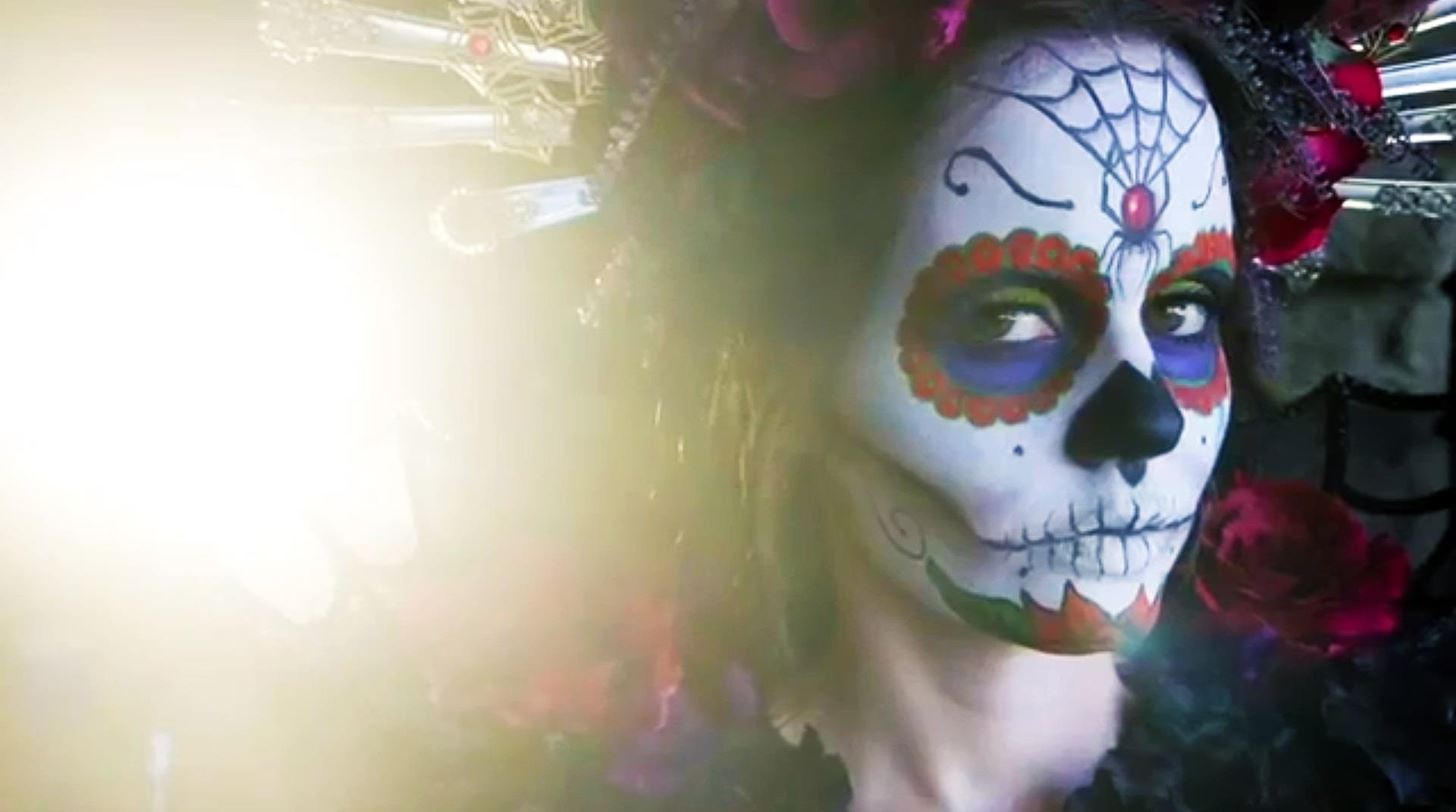 Day of the Dead: DIY Sugar Skull Halloween Look with Rick Baker, Horror Makeup FX Master