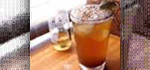 Mix a Michelada drink, aka the Spicy Beer cocktail