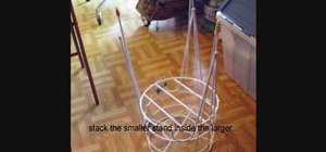 Create a sturdy stand for an Innovations Knitter