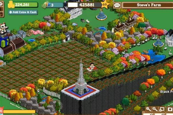 Extreme 3D Illusions in Farmville!