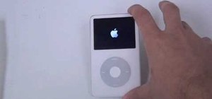 Fix an unresponce iPod Classic by hard resetting it