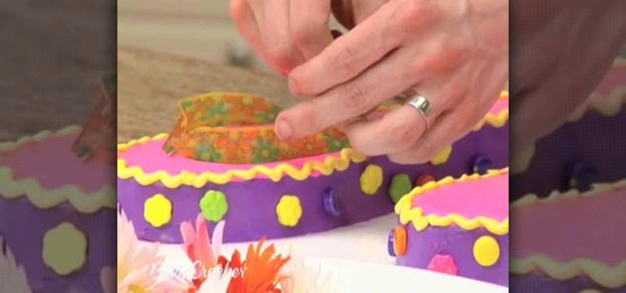 Wondrous How To Make Flip Flop Sandals Birthday Cake Cake Decorating Birthday Cards Printable Inklcafe Filternl