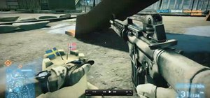 Find the 'Sandcastle' easter egg in Battlefield 3