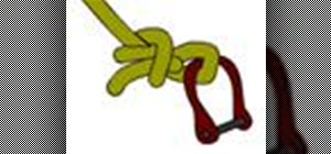 Tie the buntline hitch boating knot