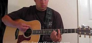 """Play """"Check Yes Juliet"""" by We the Kings on guitar"""