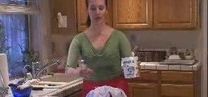 Drain yogurt