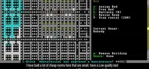Use a magma forge, roads, sculpture gardens, and ponds in Dwarf Fortress