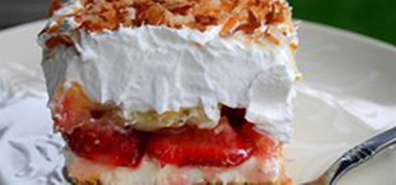 Recipe Strawberry Banana Split Cake 171 Cakes Cakes Cakes