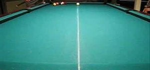 Use a squirt and swerve sidespin while playing pool