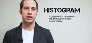 Read the histogram on a digital camera