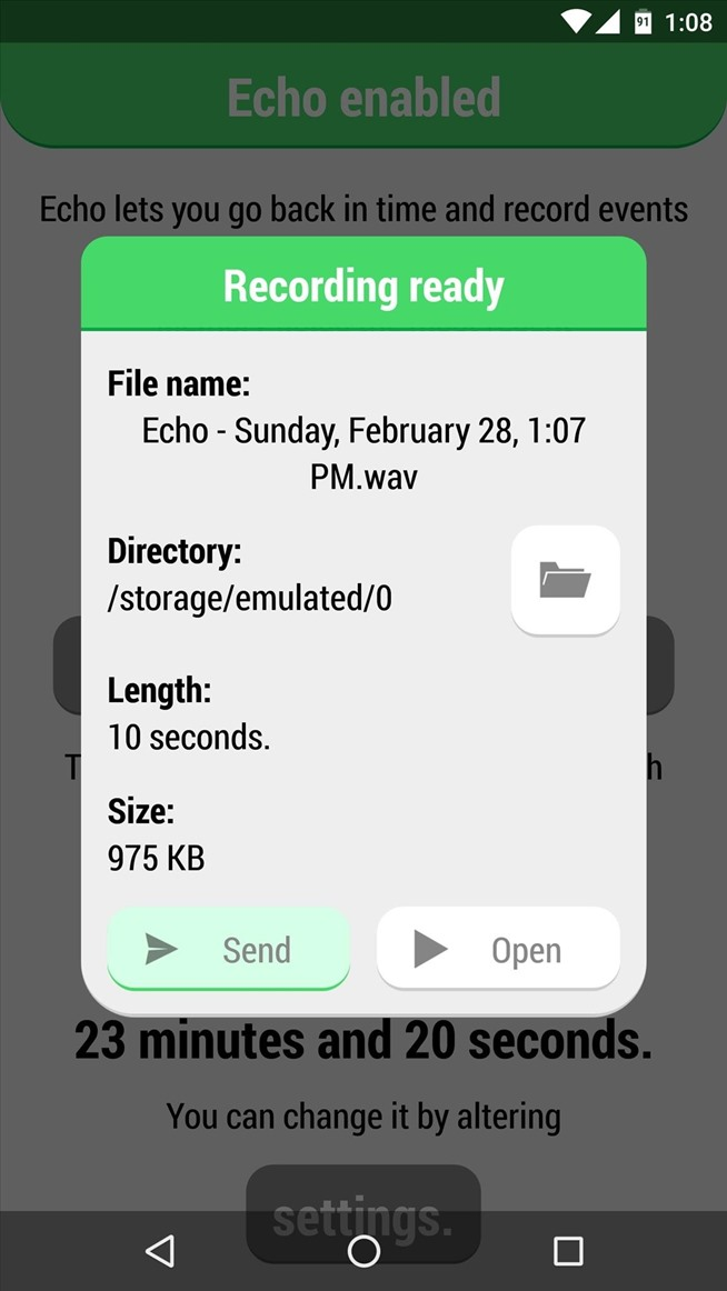 Never Miss a Moment with This 24/7 Audio Recorder for Android