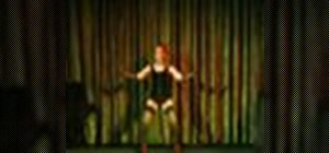Shimmy in Burlesque exotic dancing