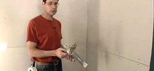 Tape drywall seams