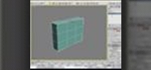 Create and edit a box in 3ds Max
