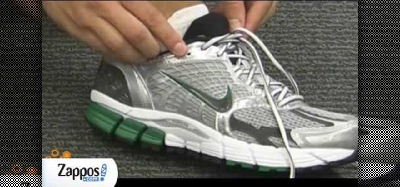 Butterfly Lacing Running Shoes