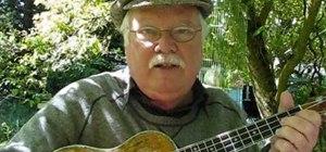"Play Donovan's ""Catch the Wind"" on the ukulele"