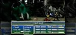 Max the strength stat in Final Fantasy VII