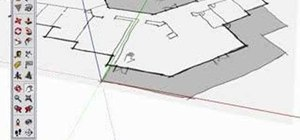 Use the axes tool in Google SketchUp