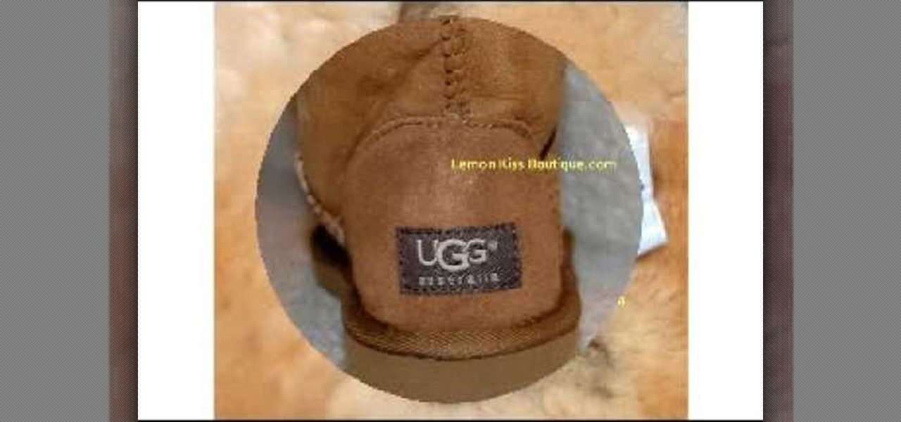 6ff54fcd8c3 How to Identify   spot fake Uggs « Fashion    WonderHowTo