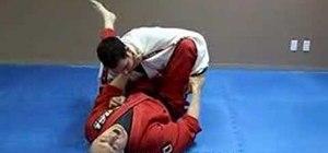 Do a Jiu Jitsu Kimura Shoulder Lock