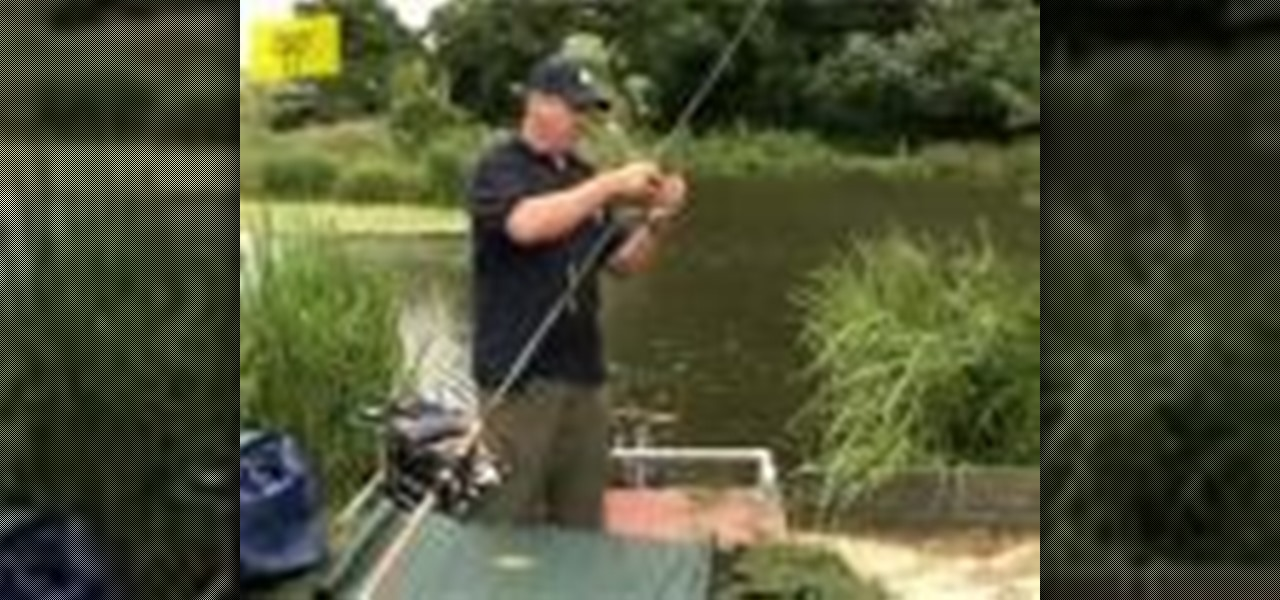 How to set up a basic fishing rod fishing wonderhowto for How to set up a fishing rod