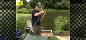 Set up a basic fishing rod
