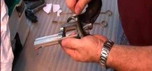 Clean a revolver